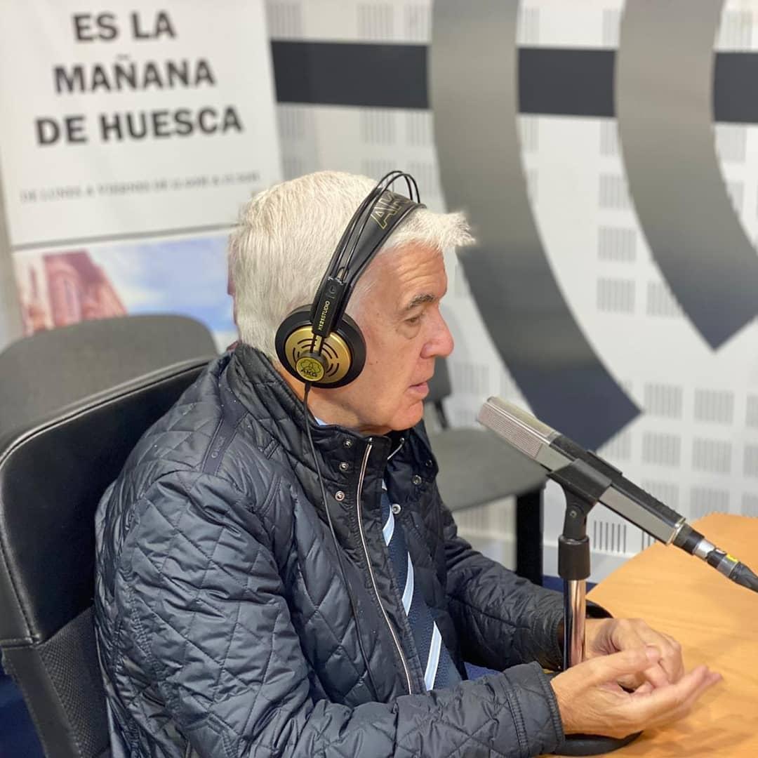 Dr. Abascal en su Huesca